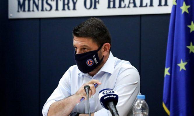 Χαρδαλιάς για επόμενα βήματα: Χρήση μάσκας παντού και απαγόρευση κυκλοφορίας στους άνω των 65